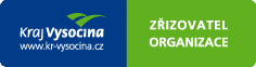 Kraj Vysočina – zřizovatel organizace (logo)